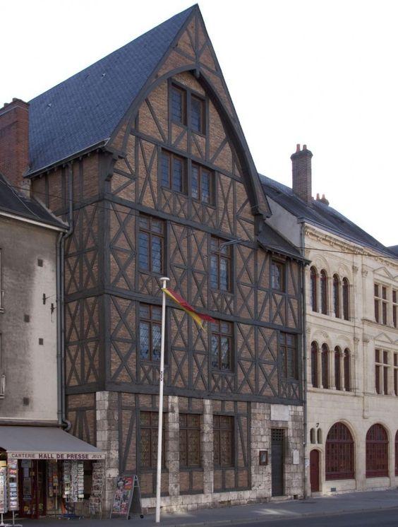 Orléans. France \\ Orléans. Maison de Jeanne d'Arc