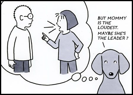 From today's Dog In Charge comic.  March 13