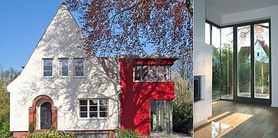 Meyer Steffens Architekten Und Stadtplaner Bda La Beck Anbau Haus Haus Haus Erweiterungen