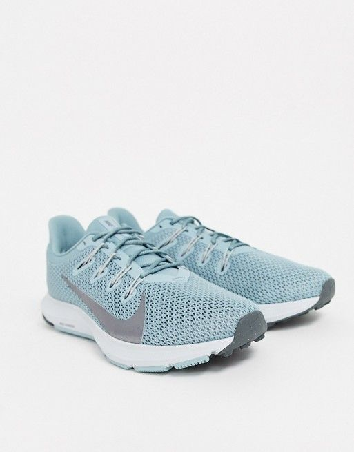 Nike Running quest trainers in blue