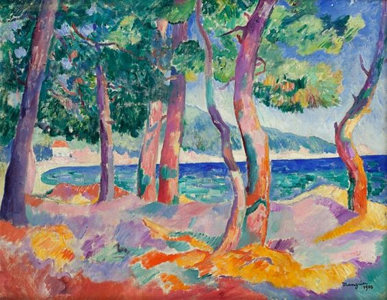 Henri Manguin (France 1874-1949) Pinède à Cavalière (1906) oil on canvas 65 x 81 cm
