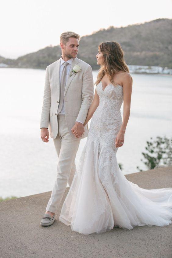 Steven Khalil Haute Couture Custom Made Second-Hand Wedding Dress on Sale