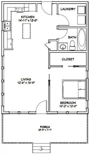 29 Trendy House Plans With Garage In Front Bath Tiny House Floor Plans Garage House Plans Tiny House Plans