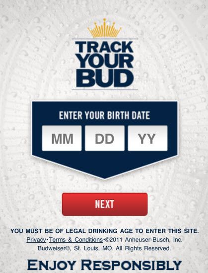 """Budweiser launches QR code campaign allowing consumers to """"Track Your Bud"""""""