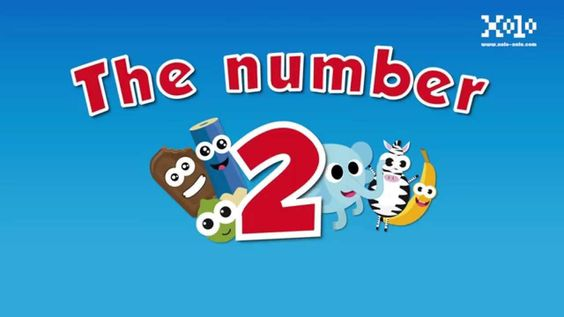 The number 2 for kids #videoseningles #numeroseningles #videosbb  #videosninos #videoseducativos