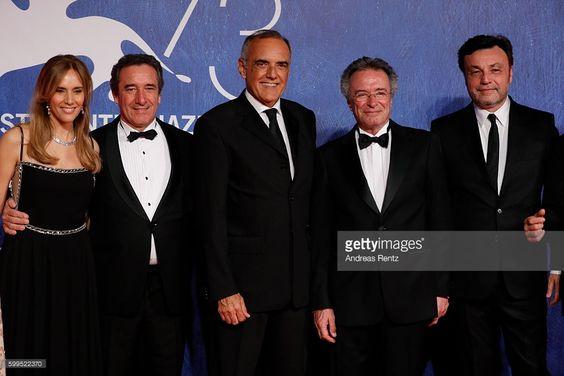 Marina Borensztein, Producer Gabriele Cavallo, Alberto Barbera, actors Oscar…