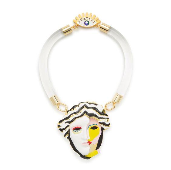 BIMBA Y LOLA Collar resina Helena de Troya