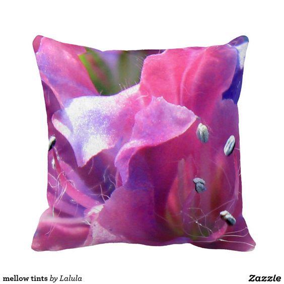 mellow tints pillow