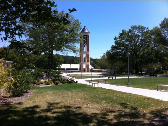 a view of the grounds at Dalton State College