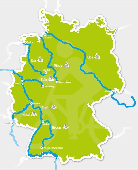 Deutschlands Schonste Flussradwege Campingplatze Deutschland