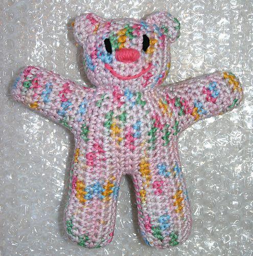 Ravelry: Crochet Teddy Bear pattern by Lucy Kate | 500x495