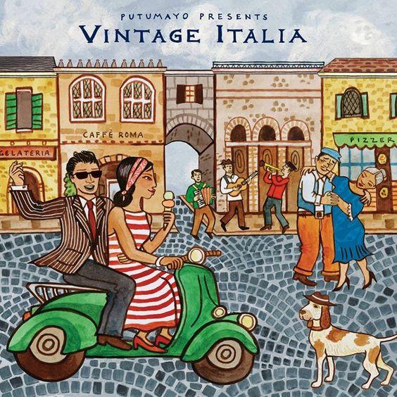 VA - Putumayo Presents: Vintage Italia (2017)