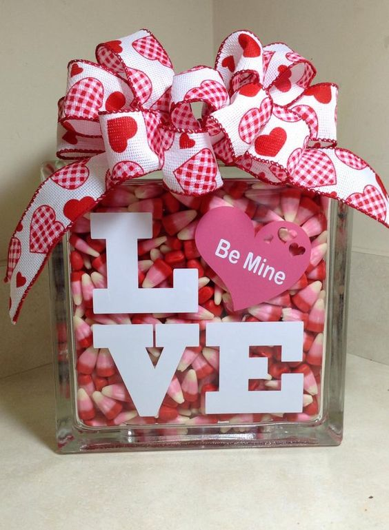 valentines day ideas with candy bars