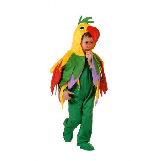 disfraz de loro infantil casero disfraces pinterest