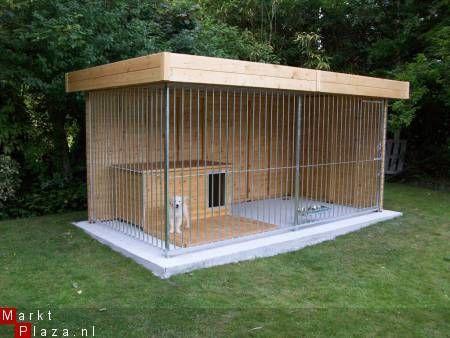Houten hondenren - JARO