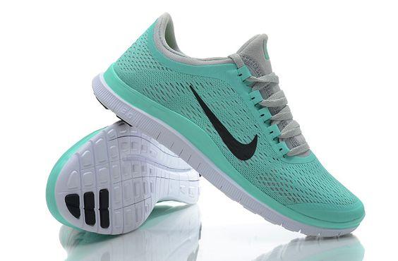 Nike Free 3.0 V5 Womens Tiffany Blue Reflective Black