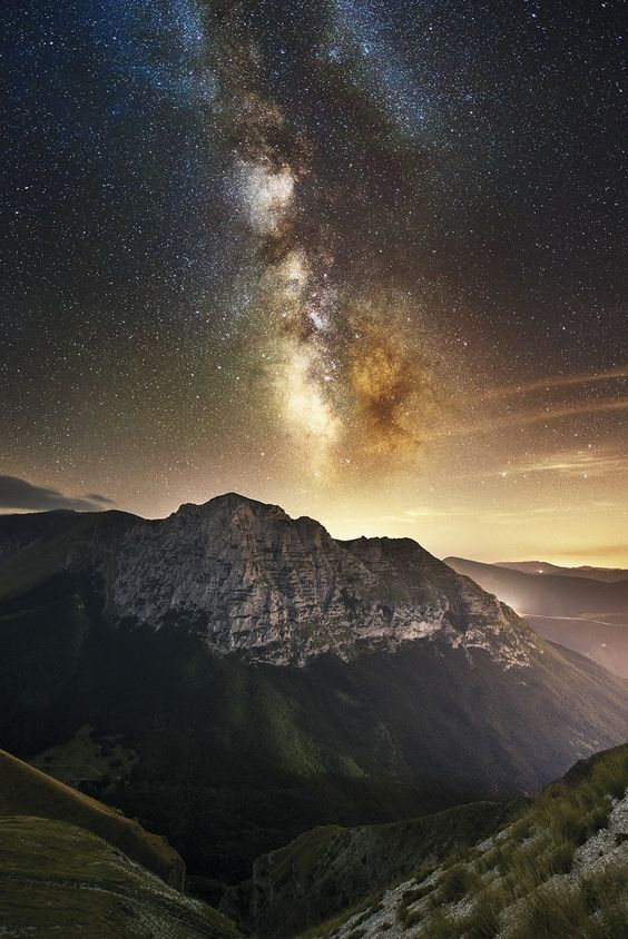 Bove Milky Way by Luca  Cruciani on 500px