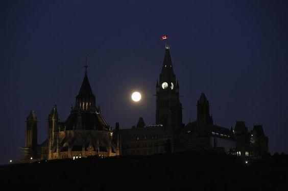 Super luna Canadá