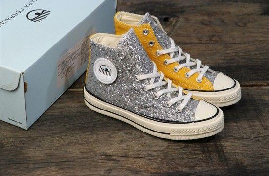 Chiara Ferragni x Converse Chuck 70 'Yellow Silver' 563830C