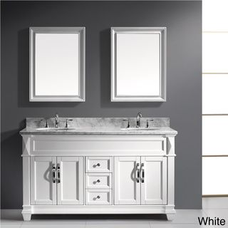 Virtu Usa Victoria 60 Inch Double Sink Bathroom Vanity Set Overstock Com  Shopping Virtu Usa 60 In Bathroom Vanity Image Of Elegant Double Sink  Bathroom