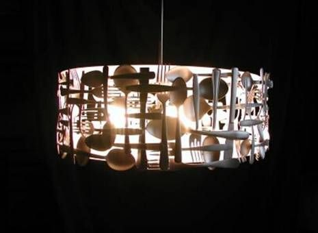 Francois Legault's Utensil Lighting » Curbly | DIY Design Community