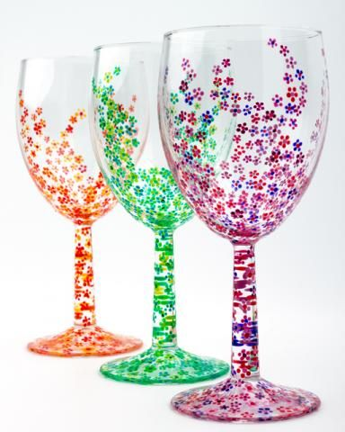 These are so pretty I don't know if I'd display them or drink out of them