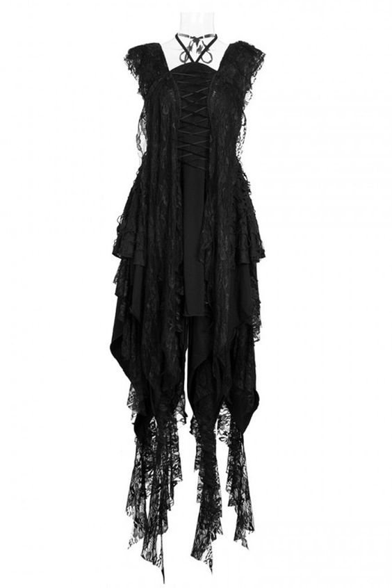 Punk Rave Dress Gothic Witch