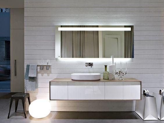 Móvel para casa de banho secional Coleção Planeta by Antonio Lupi Design®