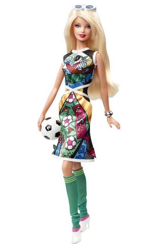 Barbie Collector Romero Britto 2014 - R$ 89,00 no MercadoLivre