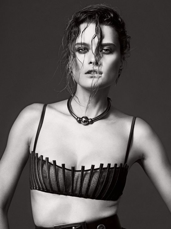 "La Perla -Graphique Couture- ""Carioca"" bra SS15 Collection | Lanvin necklace | Photo Igor Oussenko | Model Elena Melnik"