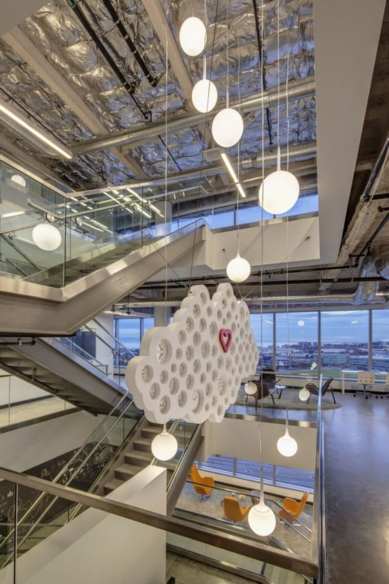 SuccessFactors San Francisco Headquarters / IA Interior Architects ....  Inside ...