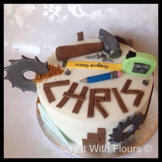 DIY themed cake