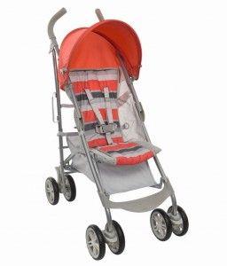 Nimbly Stroller-Lava Stripe