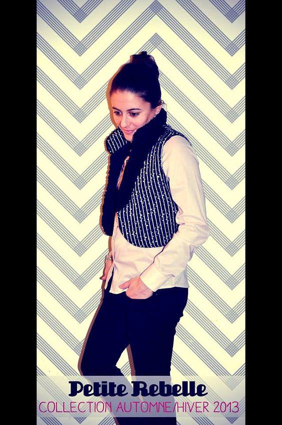 La veste Kazak pour ajouter une touche de oumph à votre tenue! #veste #modemtl www.petiterebelle.ca