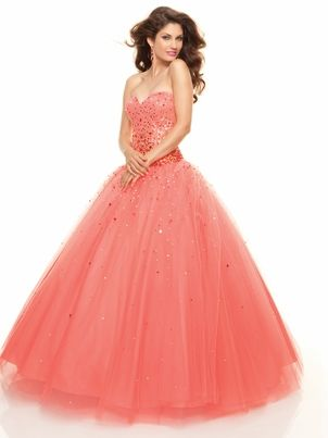 Sweetheart Ball Gown Mori Lee Prom Dress 93047|DressProm.net