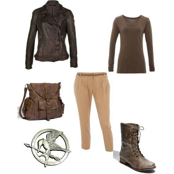 Hunger Games Costume, created by katie-byers  My Style: The Hunger Games, Costume Ideas, Katie Byers, Clothes Ideas, Hunger Games Costume, Halloween Ideas, Costumes Ideas, Games Divergent