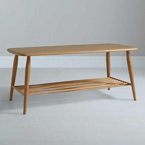 Buy Ercol For John Lewis Chiltern Coffee Table Oak Online At Johnlewis