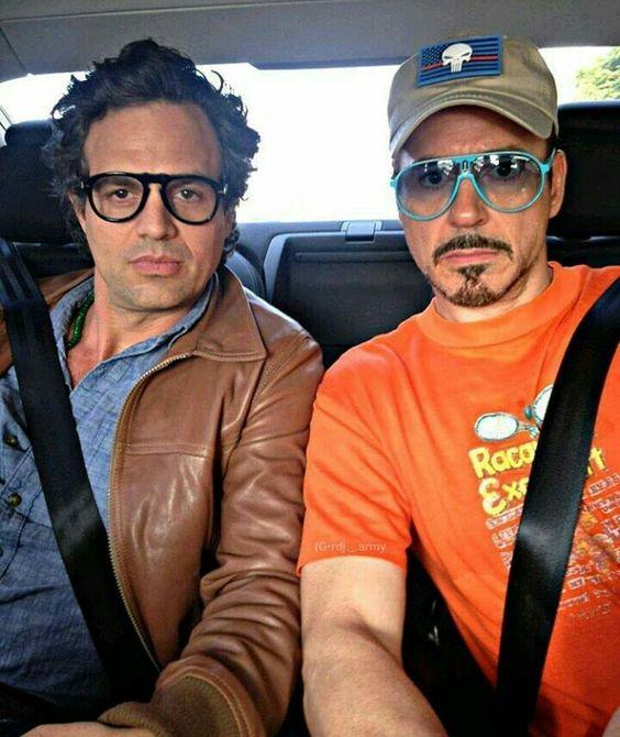 Mark Ruffalo & RDJr