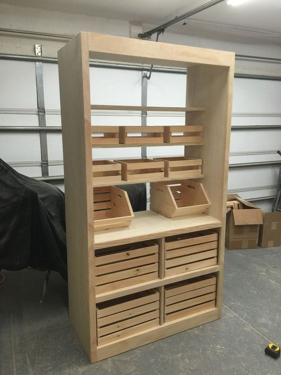 Standing Pantry Garage And Free Standing Pantry On Pinterest