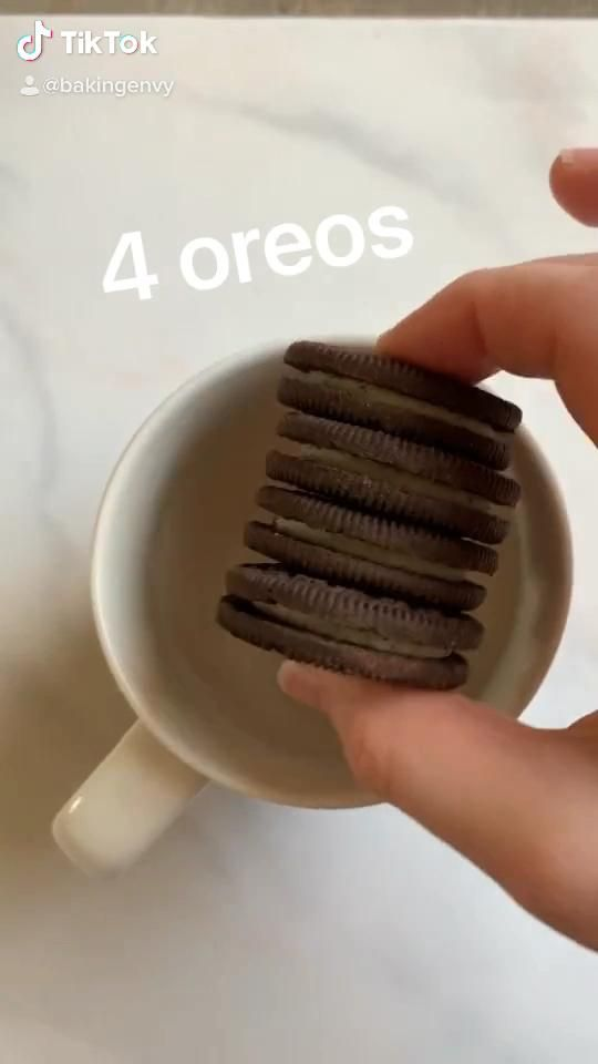 Ultimate Oreo Mug Cake In 1 Min Video Food Videos Desserts Starbucks Recipes Fun Baking Recipes