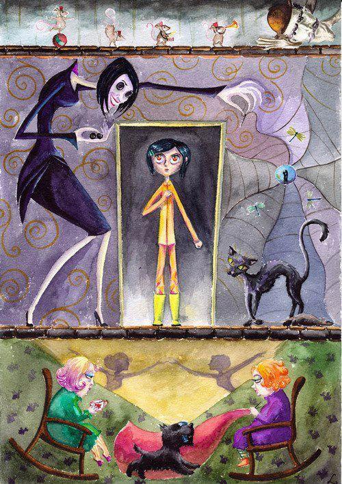 Coraline and the Secret World via Facebook