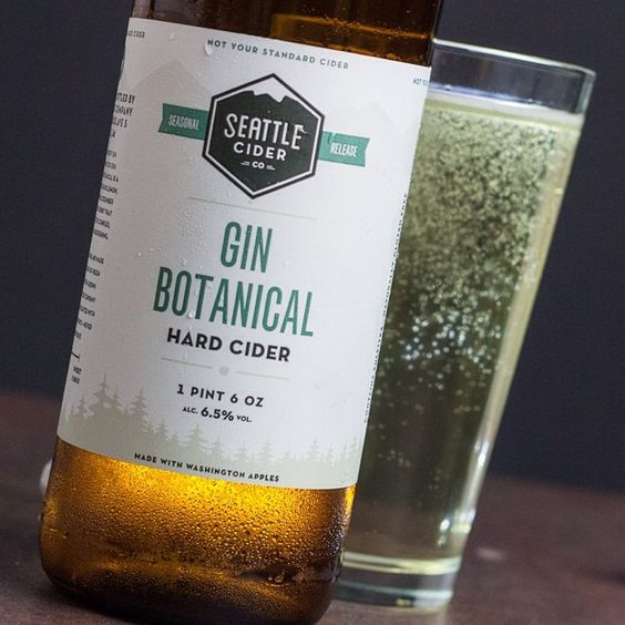 Good lord. This cider. Honest-to-goodness gin botanicals give a dry cider awesome oomph worthy of our #Top25beers of 2014 list. Hopefully @seattleciderco makes it again... WINK WINK!