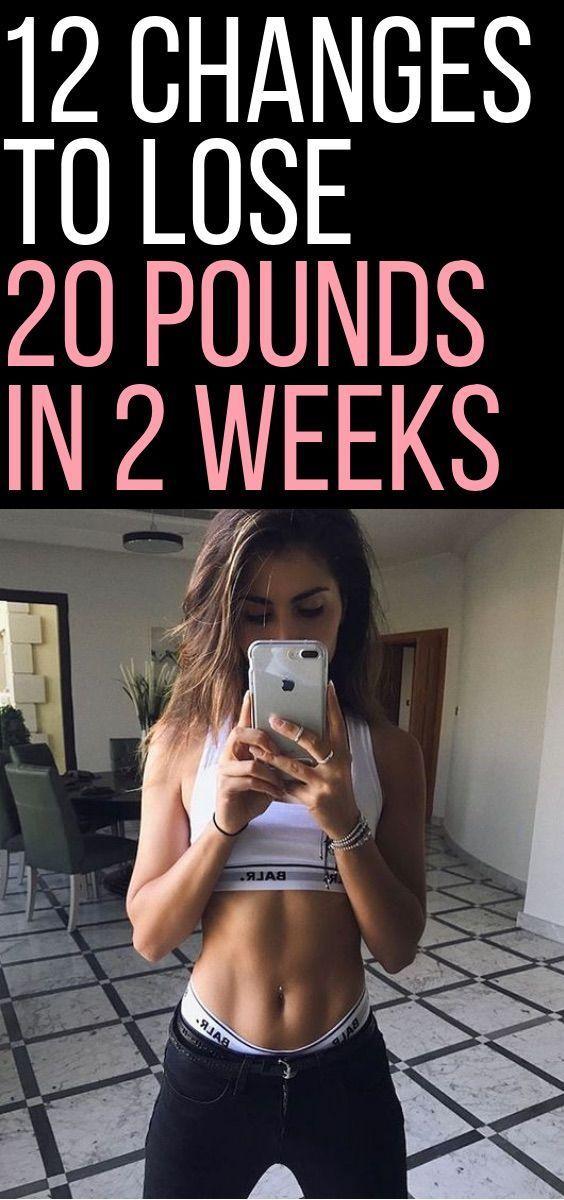 Möglichkeiten, innerhalb von 2 Wochen Gewicht zu verlieren