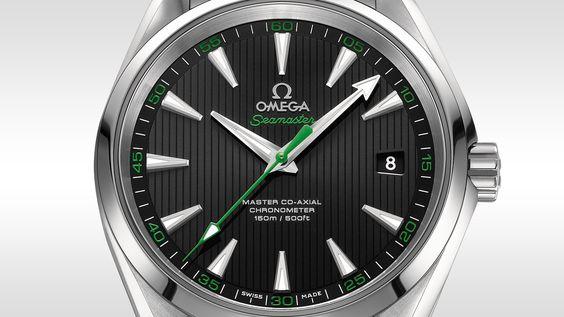 """OMEGA Watches: The Omega Seamaster Aqua Terra """"Golf"""" - 23110422101004"""