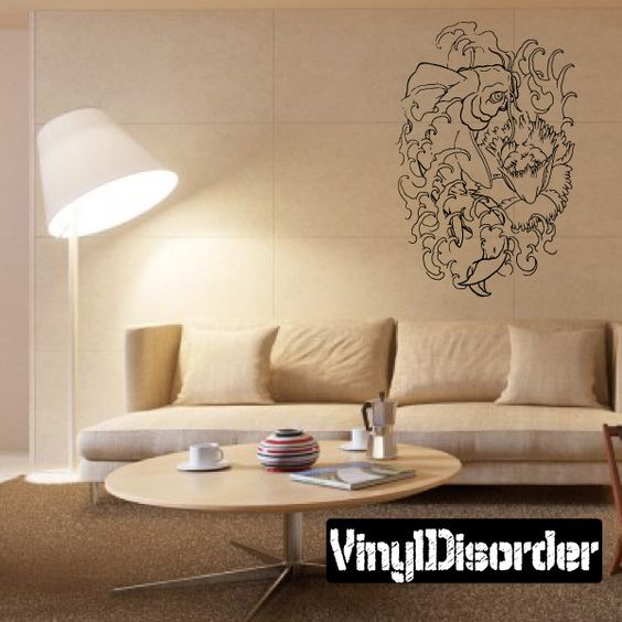 Fish Wall Decal - Vinyl Decal - Car Decal - DC530