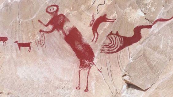 "Utah's ancient ""winged monster"" rock art deciphered - CBS News"