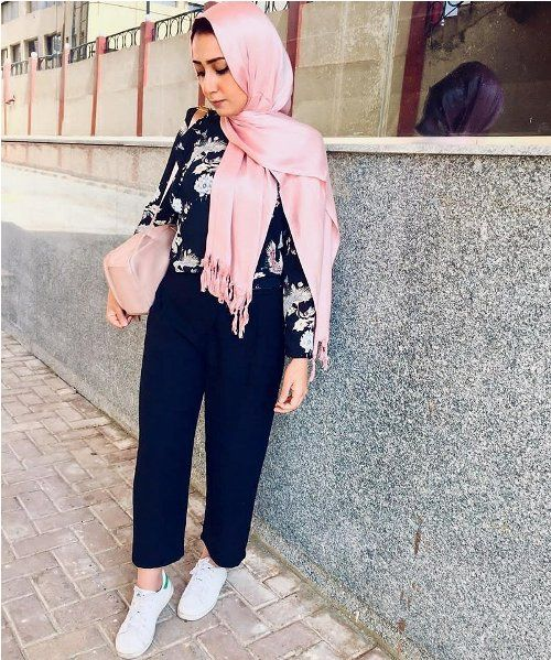 Dressy pants-Hijab fashion ideas for Easter – Just Trendy Girls