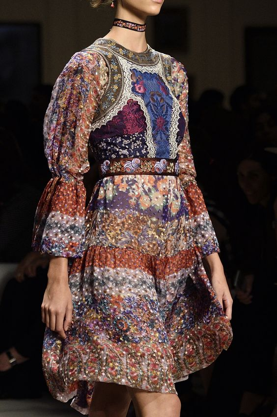 Bohemian charm at@EtroOfficial#SS16 #MFW