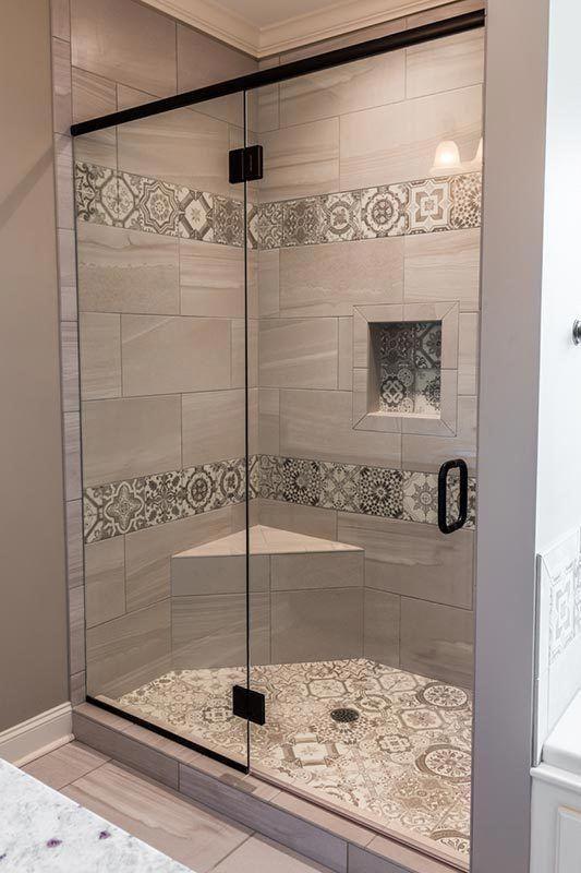 Diy And Ideas For Modern Bathrooms Master Bathrooms Bathroom Decorations Bathroom Dec In 2020 Country Style Bathrooms Bathroom Remodel Designs Master Bathroom Shower
