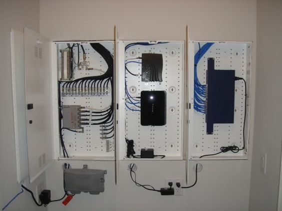 Lighting Modem Router And Security Alarm On Pinterest